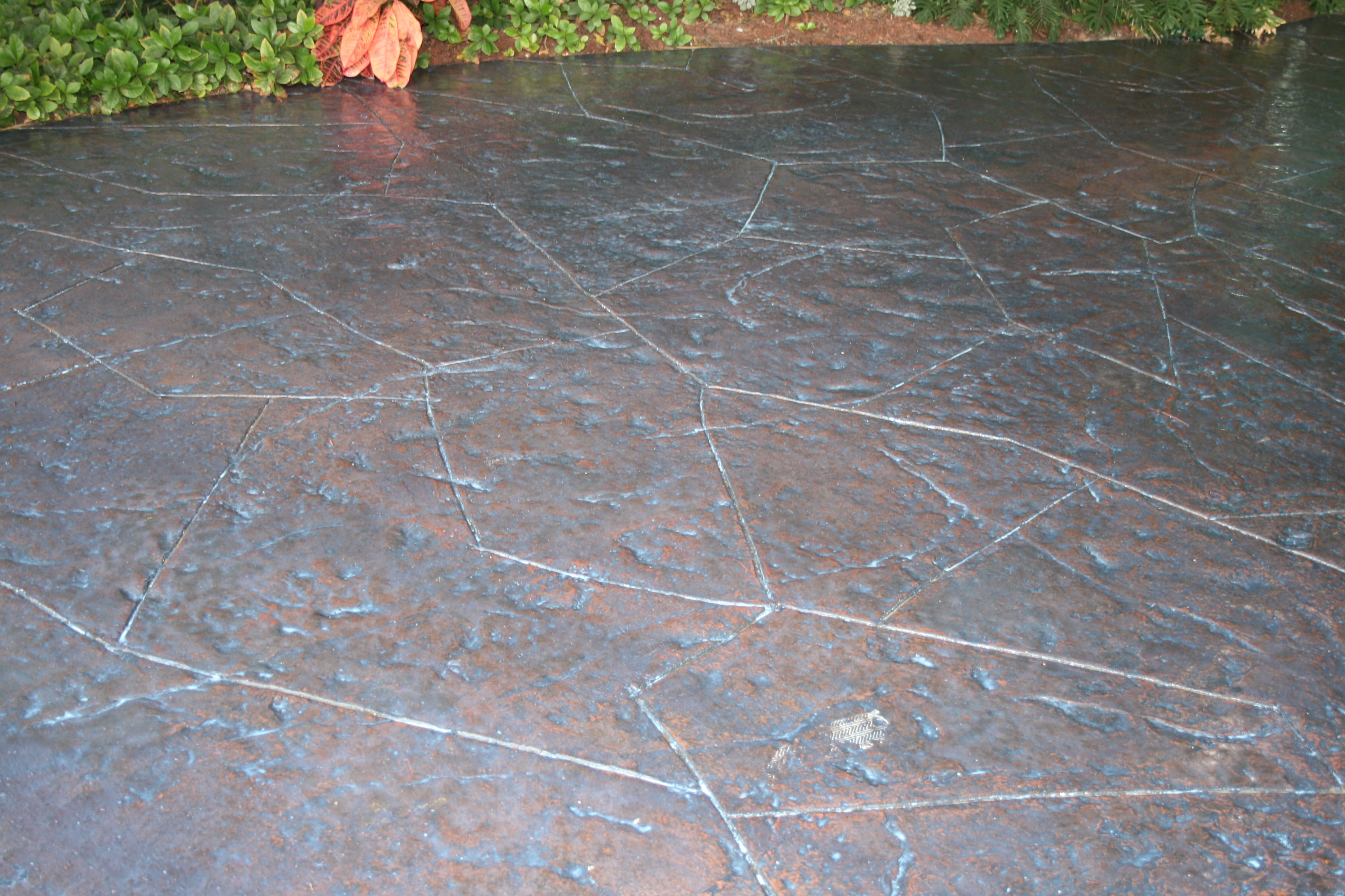 Fantastic Stamped and Stained Concrete 1 BO67